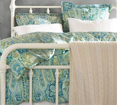 rosalie paisley duvet cover sham blue pottery barn