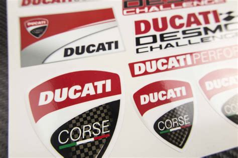 Ducati Corse Sticker Set by Madmotographics