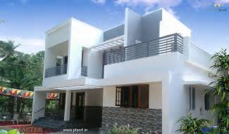 contemporary home design kerala amp house plans indian budget models