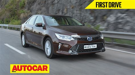 Used Toyota Camry India Toyota Camry Hybrid Facelift Review Autocar India