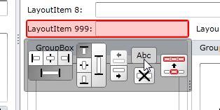 layoutgroup header silverlight wpf layout control full runtime customization