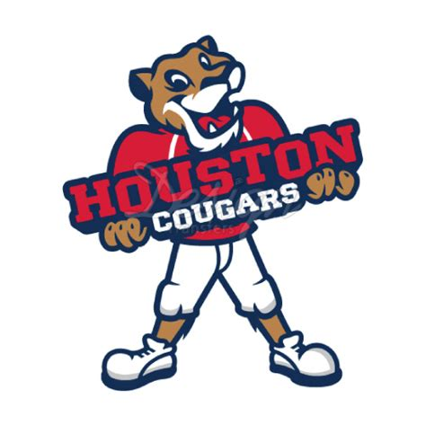 Tshirt Houston Logo Houston Cougars Logo T Shirt Iron On Transfers N4573