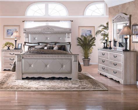 bedroom sets rent a center ashley quot grand chestnut quot queen bedroom group