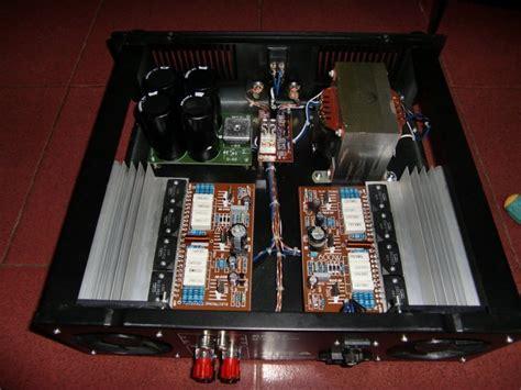 jual power lifier rakitan 600 watts li rakitan profesional out indoor baru speaker mini