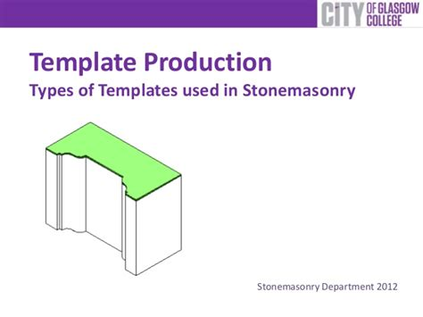 presentation types of template