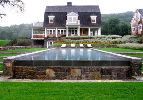 Farmhouse Bathrooms Ideas Horse Farm In Upstate New York Farmhouse Pool