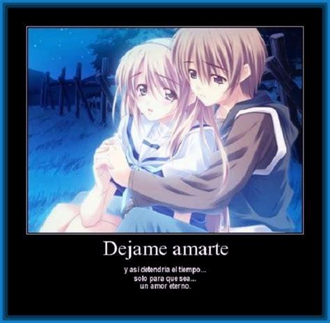 imagenes de amor eterno anime imagenes de anime con mensajes de amor y romanticos