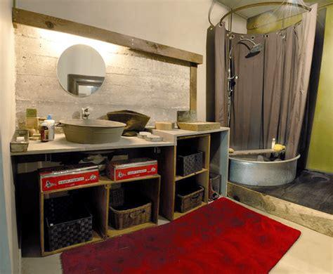 Meuble Ancien Pour Salle De Bain 3693 by Visite Priv 233 E Un Grand Appartement Atypique Au Design