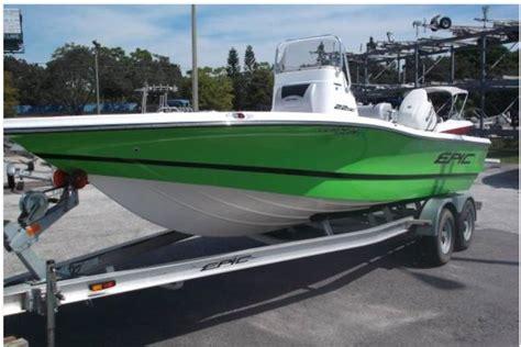 epic boats hull truth epic 22 center console bay boat 175 suzuki and trailer