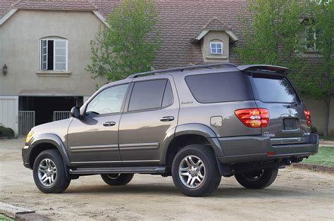 2003 Toyota Sequoia Recalls Toyota Recalls 2003 Sequoia For Stability System Issue