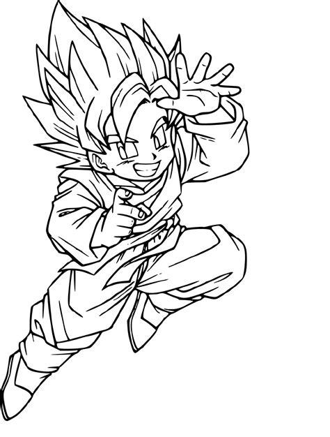 Facile Dragon Ball Broly Super Sayian Legendaire Coloriage
