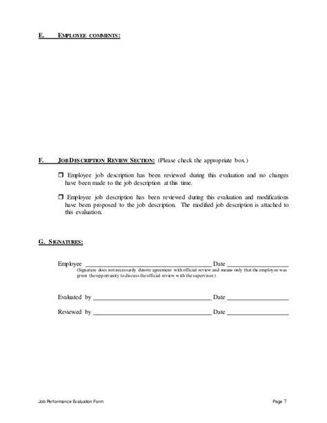 bid manager bid manager performance appraisal