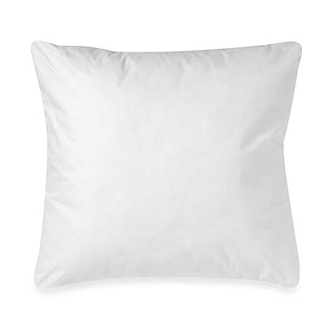 bed bath and beyond pillow inserts make your own pillow square throw pillow insert bed bath