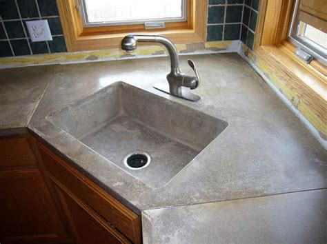 Faux Concrete Countertops by 25 Best Ideas About Concrete Countertops Cost On