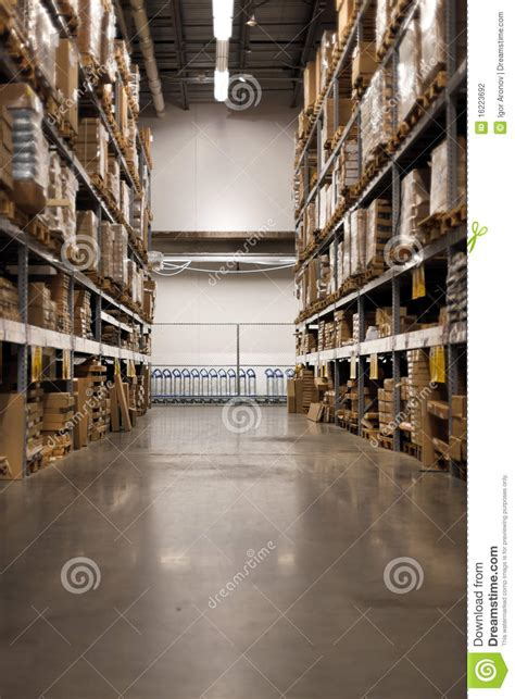 at the home improvement warehouse stock photography