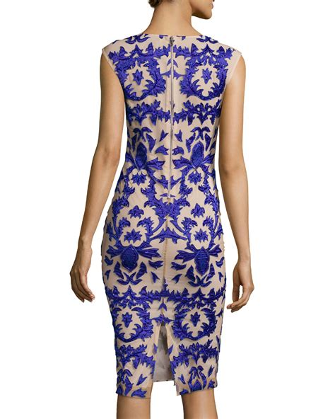 Dress Tamika lyst tamika embellished sheath dress in blue