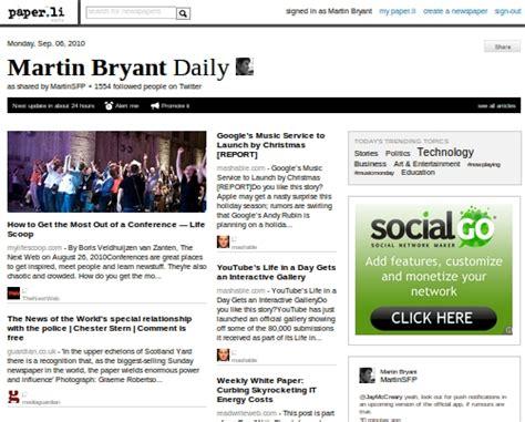 Paper L - after a revolt paper li makes its auto tweets
