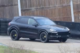 Porsche Cayenne 2017 Porsche Cayenne Spied Dpccars