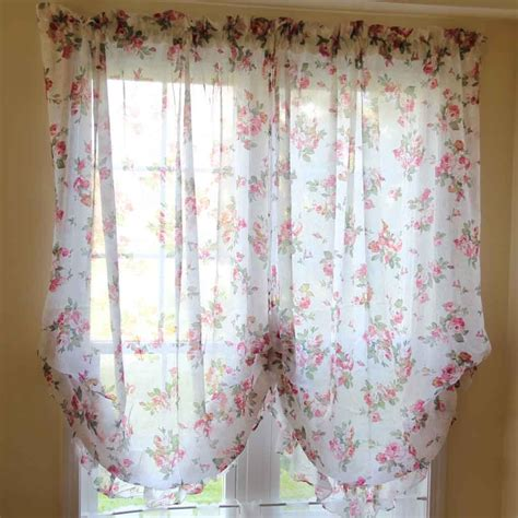 baloon curtains rose balloon curtain