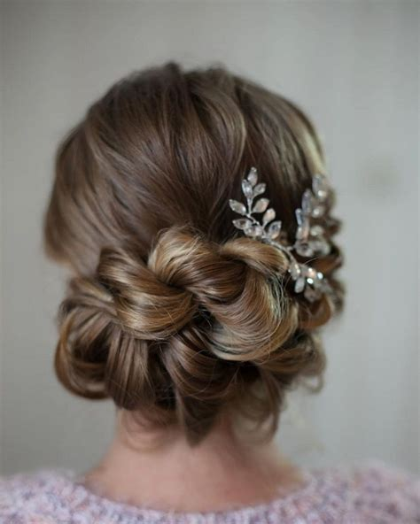 Wedding Hairstyles For Hair With Braids by Bridesmaid Hairstyles With Braids Updo Www Pixshark