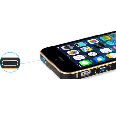 Casing Iphone 5 5s Alumunium Bumper Dual Colour Murah ultra thin aluminium metal bumper dual color for