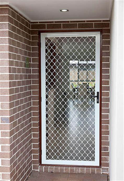 Mesh Door Screen security screen doors one way mesh security screen doors