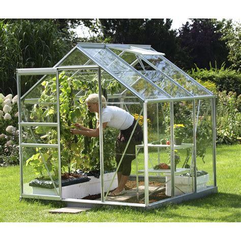 destockage serre jardin serre de jardin en verre horticole venus 3800 3 764 m 178 leroy merlin
