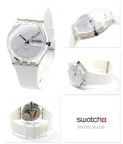 Jam Tangan Swatch Anti Air jual jam tangan unisex swatch snowcovered gk733 isan id