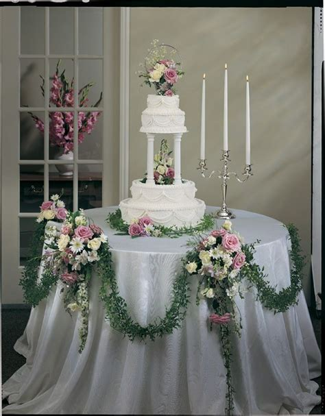 wedding cake table 2 48 best images about wedding cake table decorations on