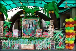 theme decorating hawaiian with luau themed birthday decoration planner in lahore pakistan tulips event