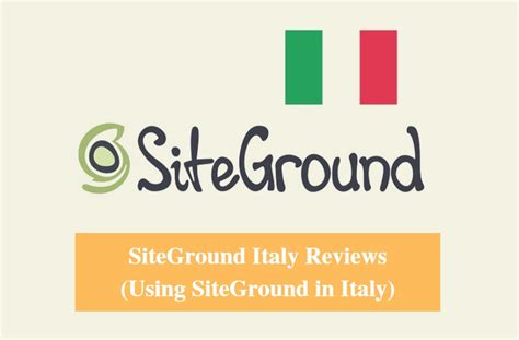speed test italy siteground italy reviews 2018 real uptime records italy