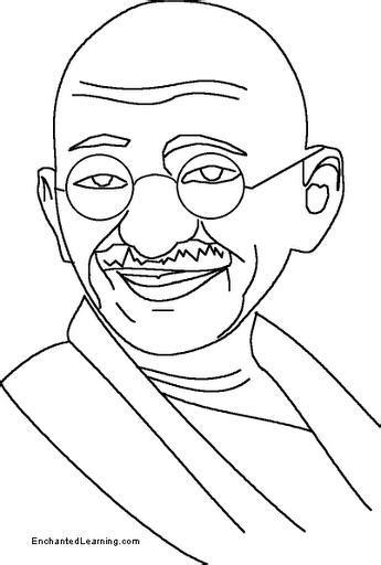 biography sketch of mahatma gandhi gandhi dibujalia dibujos para colorear paz y no
