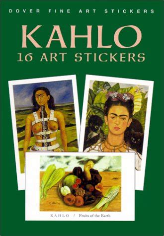 libro rivera 16 art stickers kahlo 16 art stickers dover art stickers buy online