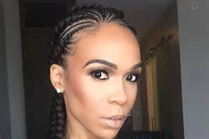 Styles For Transitioning To Natural Hair - michelle williams beautiful braids are summer hairgoals