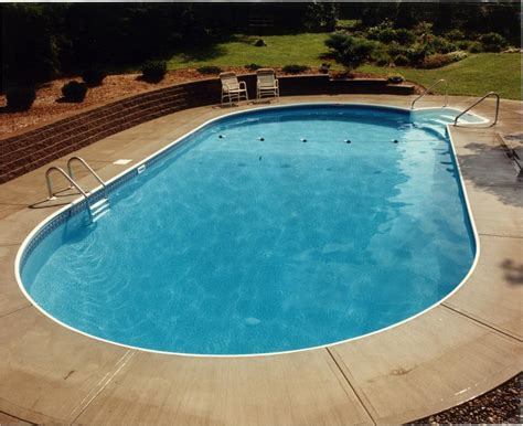 Liverpool Pool And Patio by Oval Swimming Pool In Ground Swimming Pools Built By