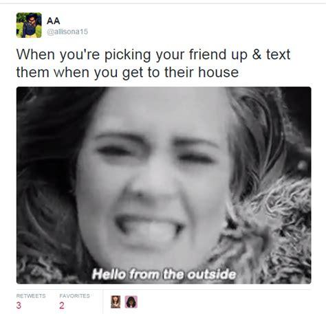 Adele Meme - 15 of the funniest hello memes on the internet webchutney