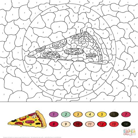 Donuts Number dress donuts color number free printable coloring pages
