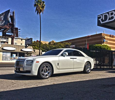 rdbla rolls royce ghost black to white transformation 3