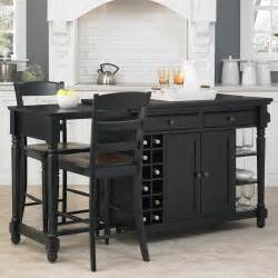 walmart kitchen island home styles grand torino kitchen island and 2 stools