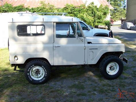 1969 nissan patrol 1969 nissan patrol 4x4 collectible