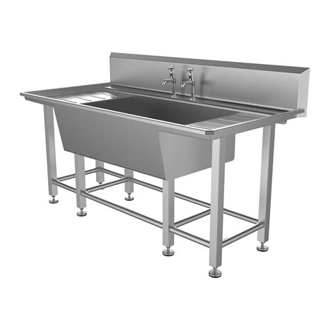Belfast Sink With Integrated Drainer by Single Bowl Drainer Stainless Steel Belfast Sink