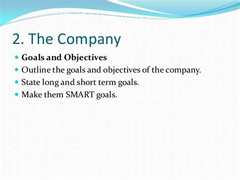 company goals and objectives template goals of a business plan reportz725 web fc2