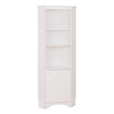 white corner storage cabinet elite 1 door corner storage cabinet white
