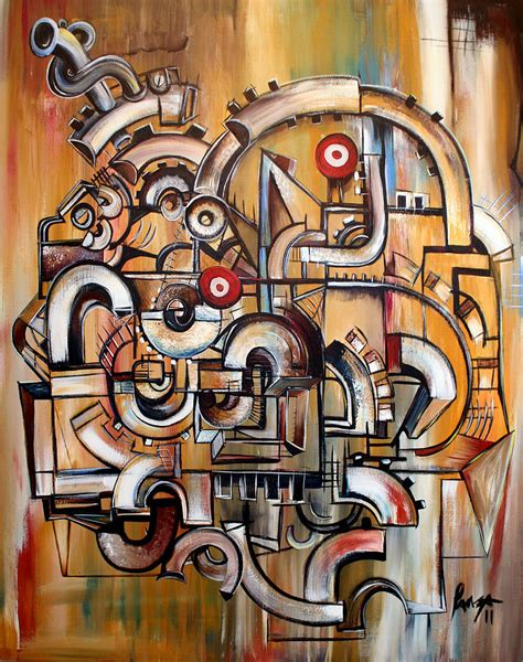 Draw Plans Online gears of ganesha painting by jose gonzalez lanza