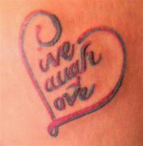 live love learn tattoo designs live laugh picture in italian best