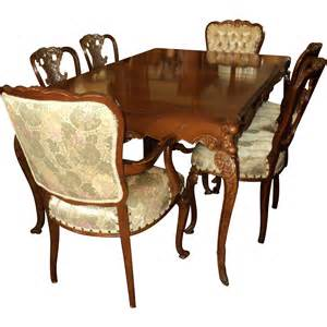 provincial dining room set country french provincial 1940 s dining room set by joerns