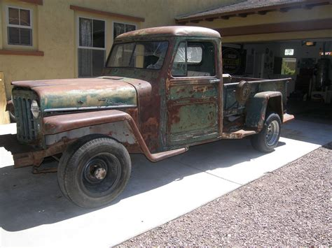 willys jeep truck for sale desert find 1951 willys pickup project for sale