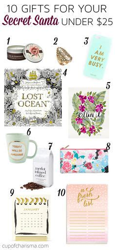 gifts for your secret 1000 ideas about secret santa gifts on secret