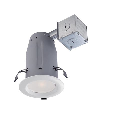 Commercial Electric Recessed Lighting by Commercial Electric 3 In White Recessed Lighting Retrofit