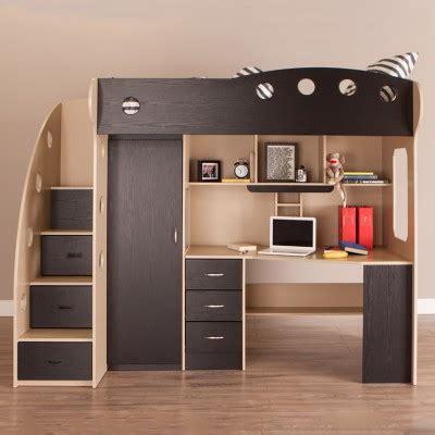 nika loft bed maple black kids bedroom furniture jysk canada